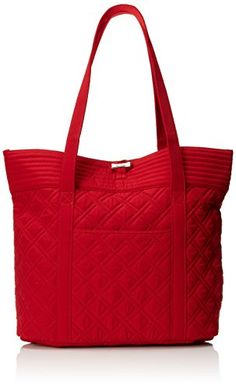 Women's Shoulder Bags - Vera Bradley Vera Tote Bag Tango Red One Size -- Find out more about the great product at the image link.