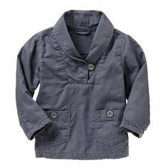 Gap Shawl Collar Popover ($23) found on Polyvore