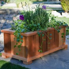 find this pin and more on planters backyard planter box ideas - Patio Flower Boxes Ideas