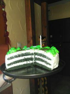 Zöld bársony torta