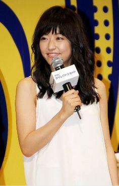 """On May actress Inoue Mao and actor/singer Yamashita Tomohisa attended a TV CM presentation event for Asahi Beer's new product, """"Asahi Direct Shot"""".Inoue, who says she loves to Inoue Mao, Japanese Culture, Celebrity Gossip, New Product, Eye Candy, Beer, Entertainment, Singer, Actresses"""