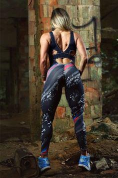 Macacão Fitness Paint Splash