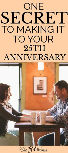 What is the secret to staying happily married for 25+ years? Is it going on regular date nights or sharing the same hobbies? The answer may surprise you.