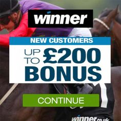 Winner Sports Promotion Codes August 2016 for a £200 Horse Racing Bet. Winner…