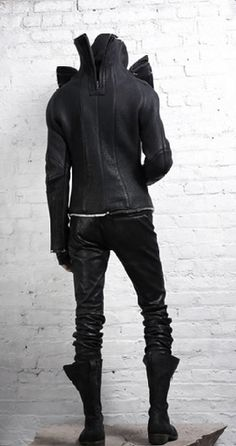 cyberpunk, dark fashion, cyberpunk fashion, future fashion, urban style, man in black, cyberpunk clothing, total black, industrial, future man, dystopian fashion, futuristic style                                                                                                                                                     More