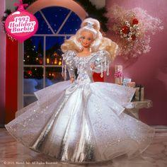 1992 Holiday Barbie #holidaybarbie
