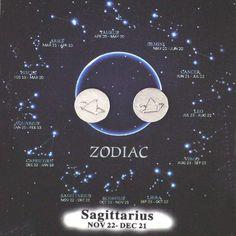 Sagittarius Zodiac Sign Horoscope Ear Studs
