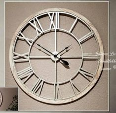 Grote Wandklok Goedkoop.De 7 Beste Afbeelding Van Grote Wandklokken Wall Clocks Big Wall