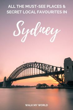 Bored of seeing all the same and obvious things to do in Sydney? Here's the places to visit that no one tells you about, put together by a local who's lived here for over five years.