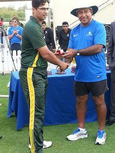 Man of the Match Hasnain Alam (Pakistan)