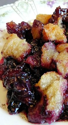 Quick and Easy Blueberry Betty Recipe