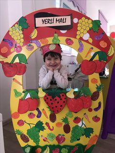 Preschool Art Activities, Nursery Activities, Class Decoration, School Decorations, Vegetable Crafts, Healthy Schools, Art For Kids, Crafts For Kids, Learning Games For Kids