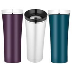 Sipp Vacuum Insulated Travel Tumbler by Thermos. $28.95 #mightynest