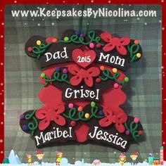 Family of 5 Mickey Ears Personalized Ornament Mickey Mouse Christmas Ornament, Family Of 5, Personalized Christmas Ornaments, Mickey Ears, Keepsakes, Birthday Candles, Personalized Gifts, Holiday Decor, Custom Christmas Ornaments