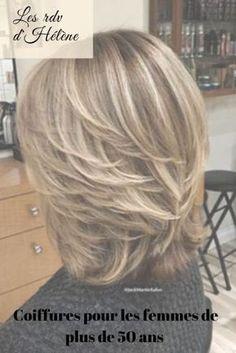 Coiffures pour les femmes de plus de 50 ans Haircut For Older Women, Short Hair Cuts For Women, Short Hair Styles, Bandana Hairstyles, Gorgeous Nails, Menopause, Hair Inspiration, Hair Beauty, Chic