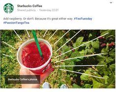 Great Google+ post from Starbucks in New York, NY / Sympathique post Google+ de Starbucks à New York, NY https://plus.google.com/u/1/b/111633823308851980087/+starbucks/posts/K1JQVZXAt9q