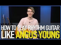 How To Play Rhythm Guitar Like Angus Young - Guitar Lesson - YouTube