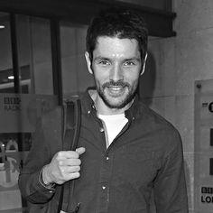 Colin Morgan arriving at BBC Radio 1