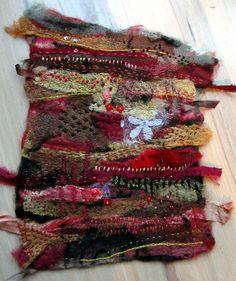 Jane LaFazio - Still Dreaming of Venice - needle felting hand stitched Textile Fiber Art, Textile Artists, Nuno Felting, Needle Felting, Creative Textiles, Fabric Journals, Felt Art, Fabric Art, Fabric Scraps