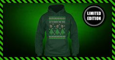 "Let's Rock the Tree Ugly Christmas Sweater ** NOT AVAILABLE IN STORES ** Limited Edition ""Let's Rock The Tree - Ugly Christmas Sweater"". Only available for a LIMITED TIME, so get yours TODAY! When you press the big green button, you will be able to choose your size(s). Be sure to order before we run out of stock! The most Ugly Christmas Sweater is here for you! **Only in Hoodie** https://teespring.com/let-s-rock-the-tree-ugly-chris"