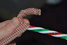A New Twist on the Homespun Candy Cane!