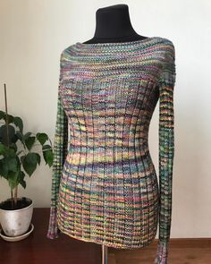 Pull Me Over by Andrea Black, knitted by @shuliknitting | malabrigo Rios in Arco Iris
