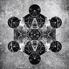 #metatron #sacredgeometry #awak3n / Sacred Geometry <3 Mais