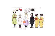Character Sheet, Character Design, Good Animated Movies, Ninja, Anime Scenery Wallpaper, Anime Kiss, Cool Animations, Chica Anime Manga, Slayer Anime