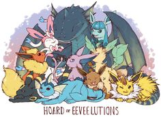 EVENTUALLY+this+dragon+will+probably+be+out+of+date,+and+itll+spend+another+few+months+frantically+trying+to+snag+whatever+new+evolution+is+inevitably+added+to+the+eevee+family+(+right+NOW+though+everything+is+peaches+)  size:+11+by+8.5+inches