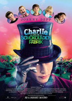 """Filmplakat """"Charlie und die Schokoladenfabrik"""""""