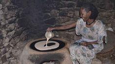 La recette saine et sans gluten d'un des classiques de l'alimentation éthiopienne et érythréenne, l'injera, une galette de farine de teff !!