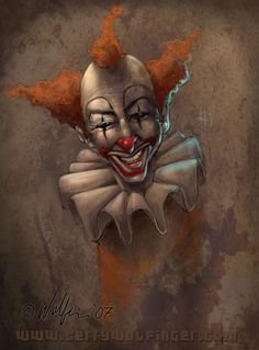 Mr Clown by WolfieArtGuy photoshop resource collected by psd-dude.com from deviantart