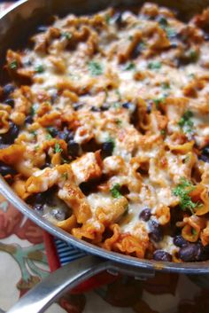 No-Boil Spicy Chicken Enchilada Skillet - everything cooks in the same skillet, even the pasta! No-Boil Spicy Chicken Enchilada Skillet - everything cooks in the same skillet, even the pasta! Chicken Enchilada Skillet, Chicken Enchiladas, Enchilada Sauce, Skillet Chicken, Skillet Meals, Boil Chicken, Cream Chicken, Enchilada Casserole, Skillet Recipes