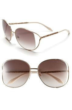 Roberto Cavalli Oversized Sunglasses   Nordstrom - StyleSays