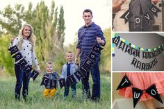 Wooden Chalkboard Banners  3 options available!  50% OFF