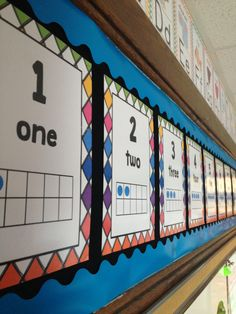 1-20 Number Charts that help students subtilize with 10 Frames!