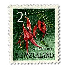 New Zealand 1967 SG 847 Flower Fine Mint Scott 384 Condition Fine MNH Only one post charge applied on multipule Clematis Paniculata, Rainbow Trout, Tree Trunks, Tree Tops, Prehistory, New Set, Red Flowers, Postage Stamps, New Zealand