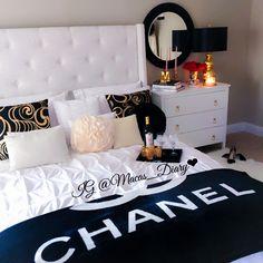 Chanel chic room decor