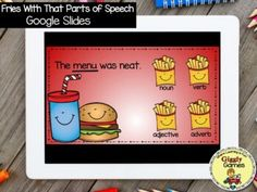 This interactive internet resource makes a fun and educational way to learn or review parts of speech. The game is entertaining, encouraging, and self-checking. Make sure to check out the video preview above to see the game in action!!!***Your download will include a PDF file. Click on the link in t... File Folder Games, Parts Of Speech, Early Childhood Education, Learning Centers, Special Education, Social Studies, Language Arts, Encouragement, Pdf