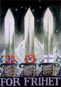 z- For Freedom [Norway's 'Nasjonal Samling' Party] (Prop- Germany-Axis- WWII) -2b