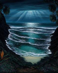 Walfrido Coastline Paintings at Ocean Treasures