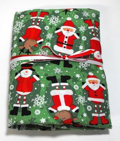 Christmas Sheet Crib Sheet Toddler Sheet Santa  by KidsSheets, $21.99