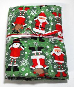 Christmas Sheet Crib Sheet Toddler Sheet Santa  by KidsSheets, $21.99