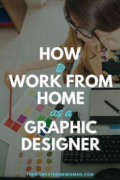 How to Work From Home as a Graphic Designer Are you creative? Do you have an eye for detail and excellent communication skills? Find out if a career in graphic design is the perfect work-at-home oppor Design Websites, Web Design Jobs, Online Web Design, Web Design Quotes, Graphisches Design, Design Logo, Web Design Trends, Web Design Company, Graphic Design Tutorials