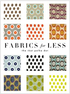 Kelly Market: FABRICS FOR LESS