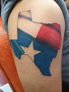 something like this smaller over my heart. Texas tattoo