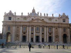 Basilica de San Pedro~Ciudad del Vaticano, Roma, Italia