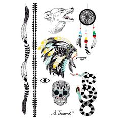 realism: +++++ look: +++++ color: ++++- holding: +++-- skin: +++-- Temporary Tattoo, Dream Catcher, Tattoos, Drawings, Illustration, Girls, Inspiration, Color, Tatuajes