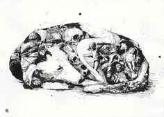 Chaos and order 3 Art Print