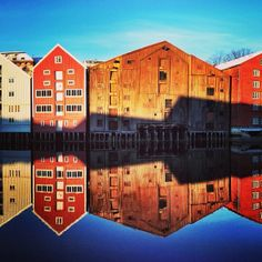 Nidelven #river  #trondheim #centralnorway Nice Memories, Trondheim, Norway, My Photos, River, Explore, Country, Pictures, Image